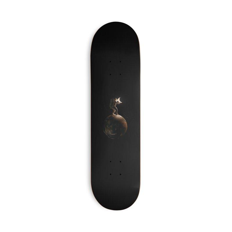 Lunar Accessories Skateboard by nicebleed