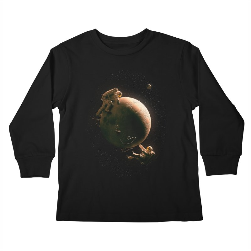 Gravity Play Kids Longsleeve T-Shirt by nicebleed