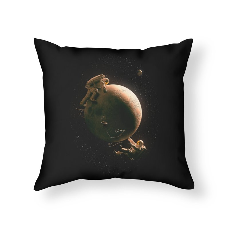 Gravity Play Home Throw Pillow by nicebleed