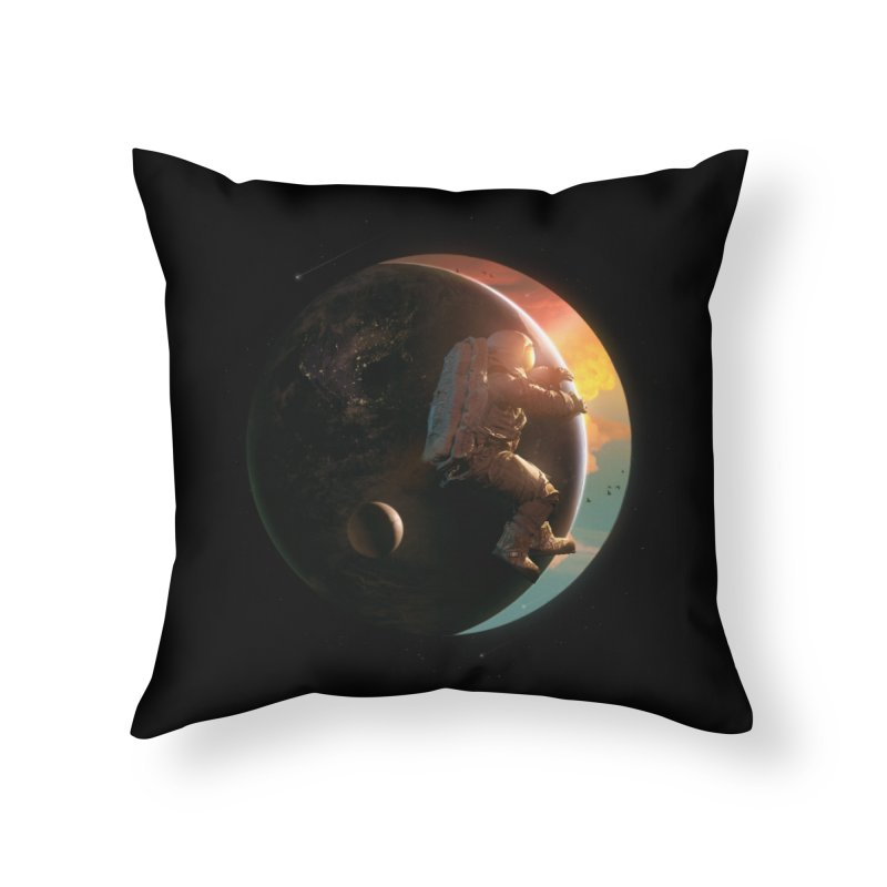 New Day Home Throw Pillow by nicebleed