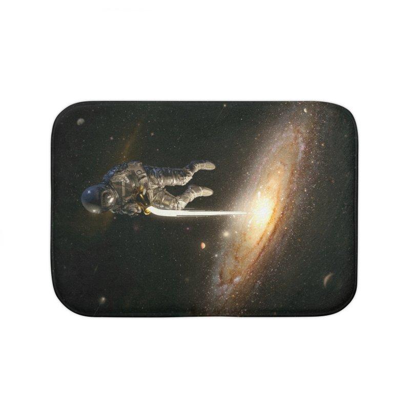 The Milky Way Home Bath Mat by nicebleed