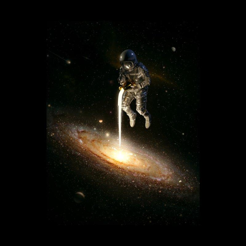 The Milky Way Men's T-Shirt by nicebleed