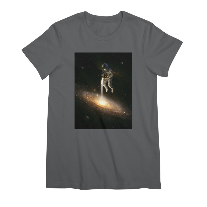 The Milky Way Women's T-Shirt by nicebleed