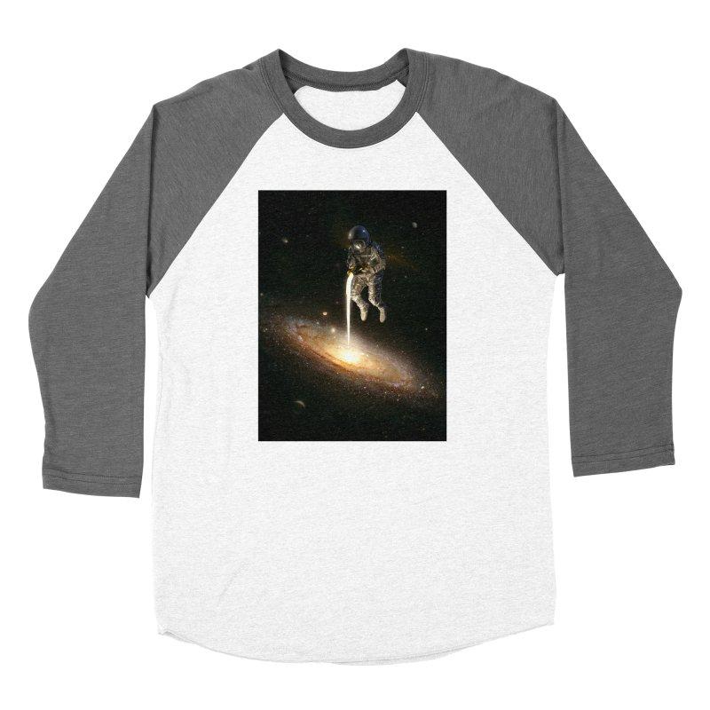 The Milky Way Women's Longsleeve T-Shirt by nicebleed
