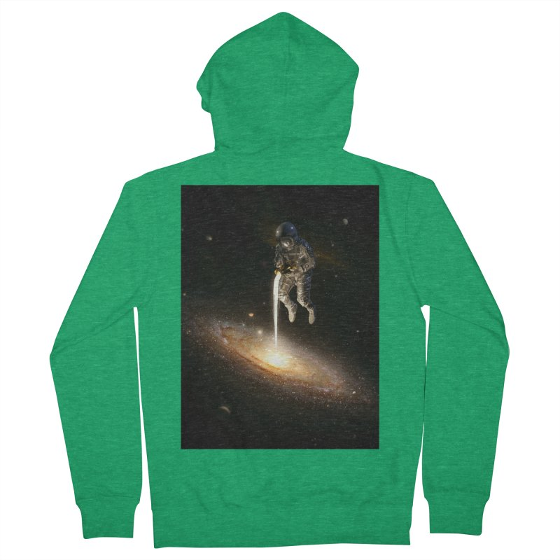 The Milky Way Men's Zip-Up Hoody by nicebleed
