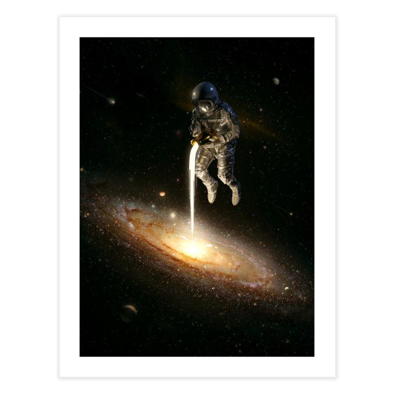 The Milky Way Home Fine Art Print by nicebleed