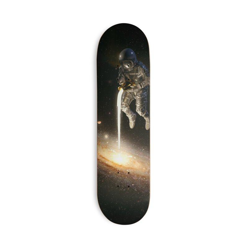 The Milky Way Accessories Skateboard by nicebleed