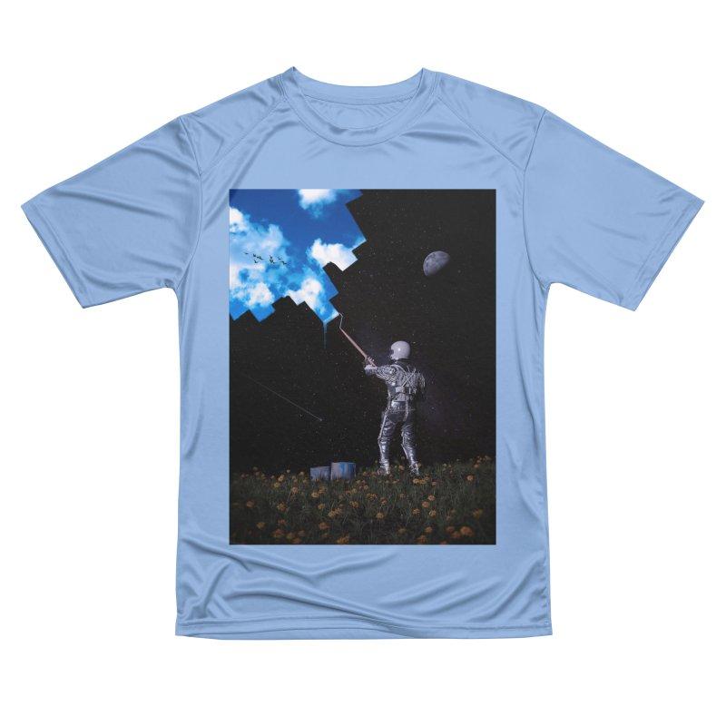 Hello Blue Sky Men's T-Shirt by nicebleed