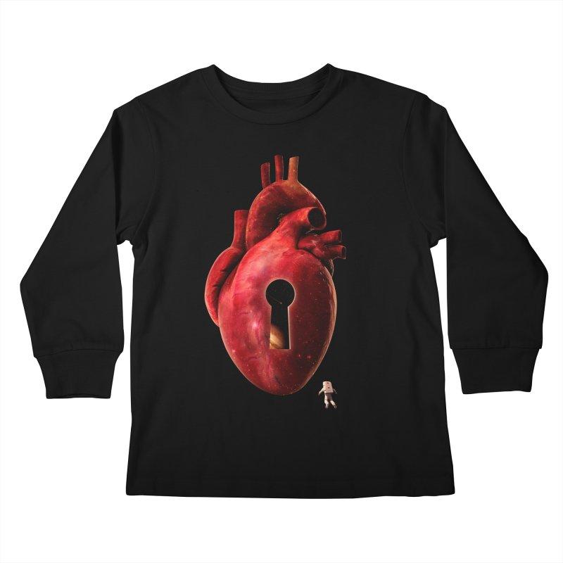 Opening Kids Longsleeve T-Shirt by nicebleed