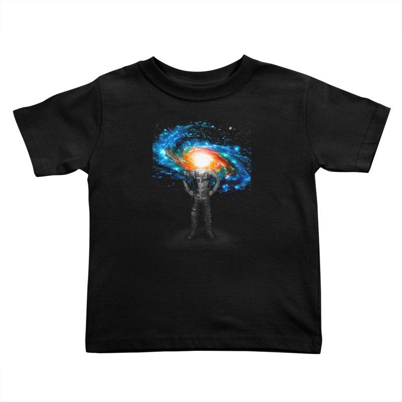 Mr. Galaxy Kids Toddler T-Shirt by nicebleed