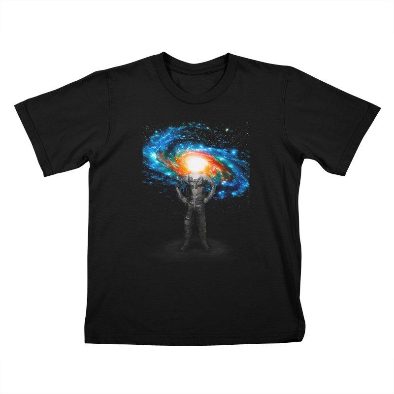 Mr. Galaxy Kids T-shirt by nicebleed
