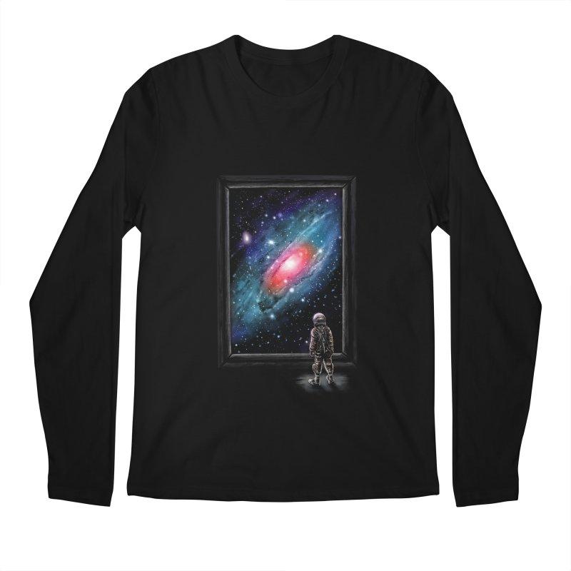 Looking Through A Masterpiece Men's Longsleeve T-Shirt by nicebleed