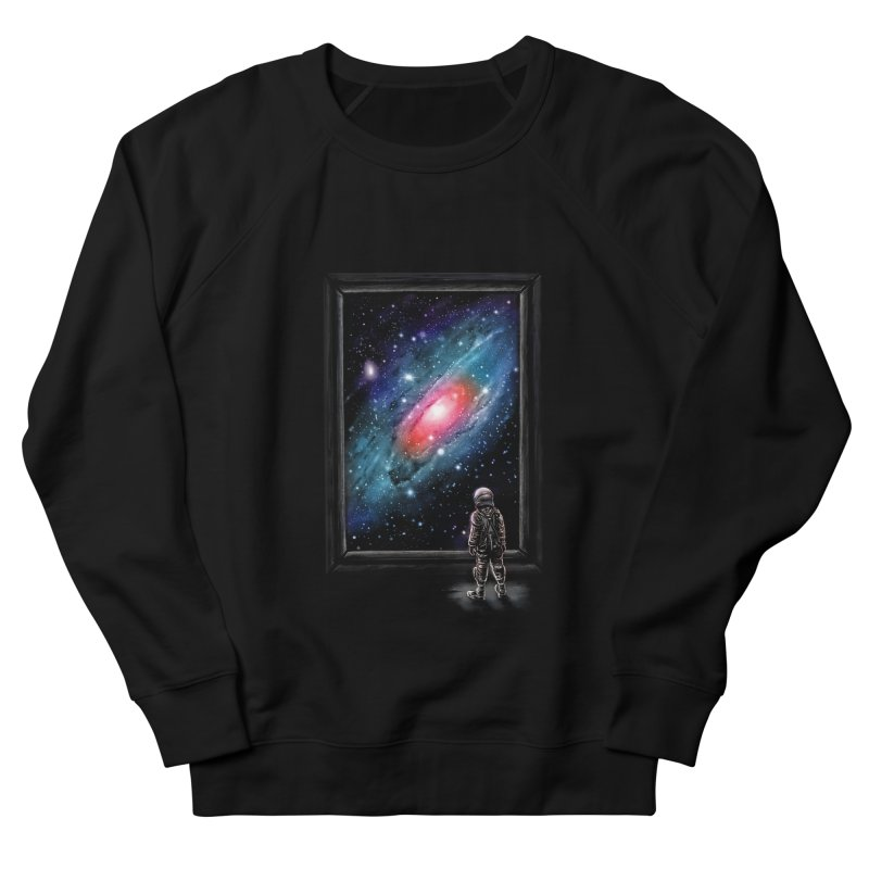 Looking Through A Masterpiece Men's Sweatshirt by nicebleed