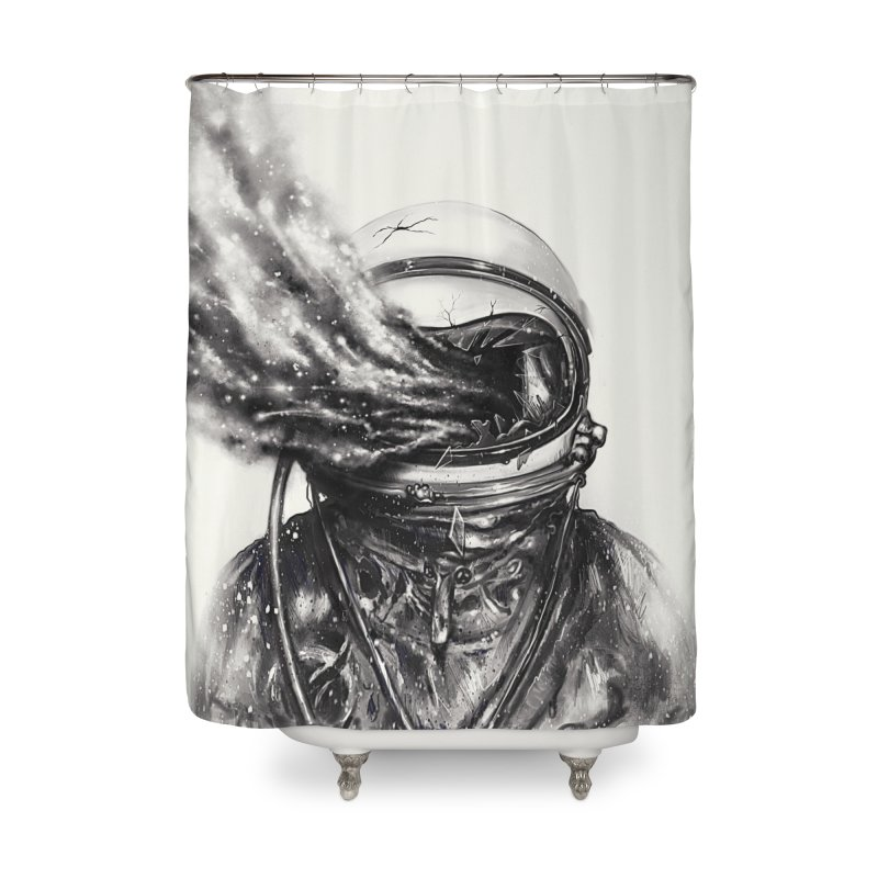 Transposed Home Shower Curtain by nicebleed