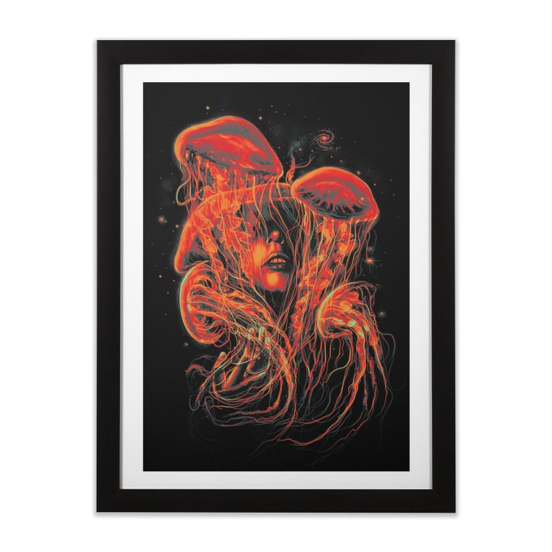 A Beautiful Delusion Home Framed Fine Art Print by nicebleed