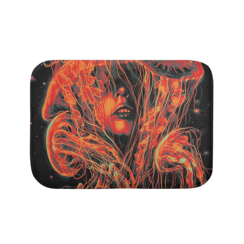 A Beautiful Delusion Home Bath Mat by nicebleed