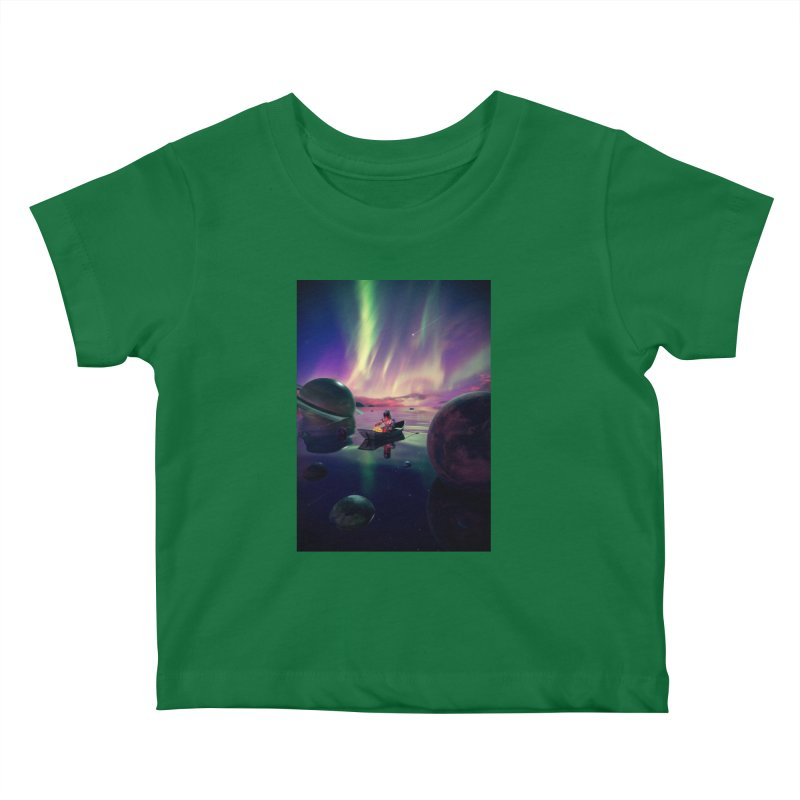 Star Collector Kids Baby T-Shirt by nicebleed