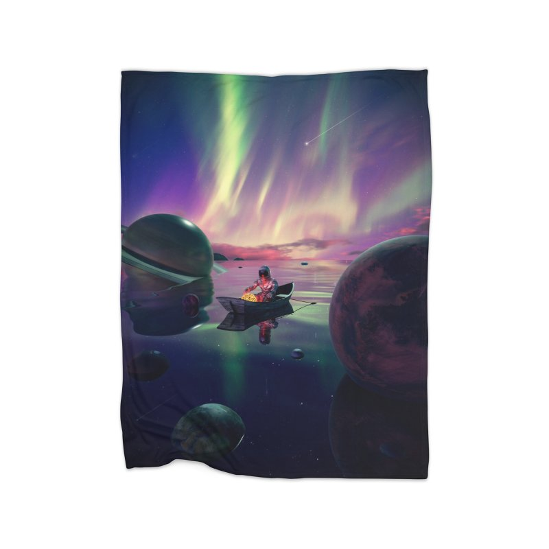 Star Collector Home Blanket by nicebleed