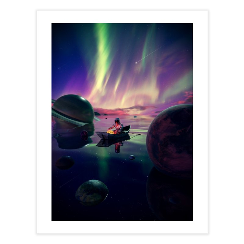 Star Collector Home Fine Art Print by nicebleed