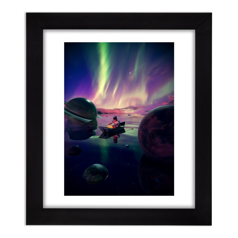 Star Collector Home Framed Fine Art Print by nicebleed