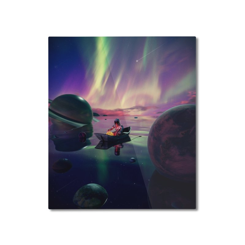 Star Collector Home Mounted Aluminum Print by nicebleed