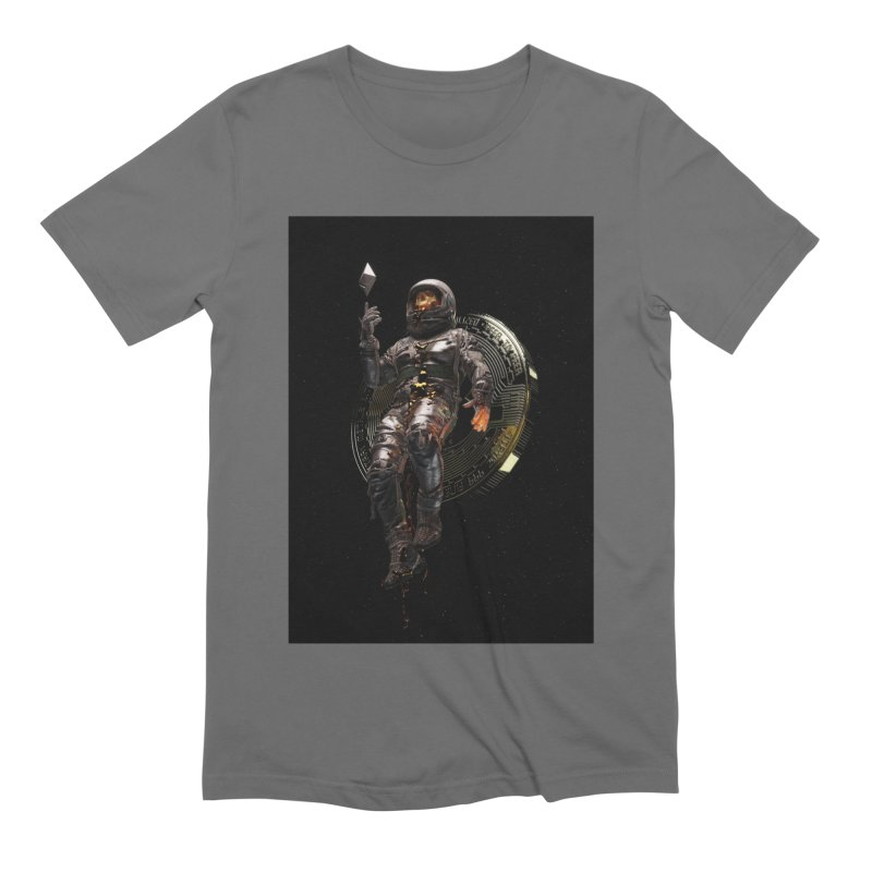 Cryptonaut Men's T-Shirt by nicebleed