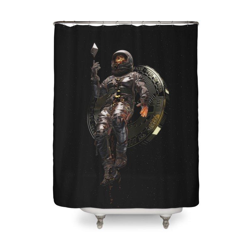 Cryptonaut Home Shower Curtain by nicebleed