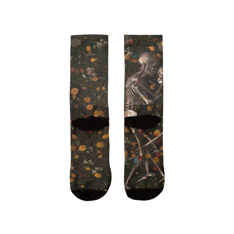 Memento Mori Women's Socks by nicebleed