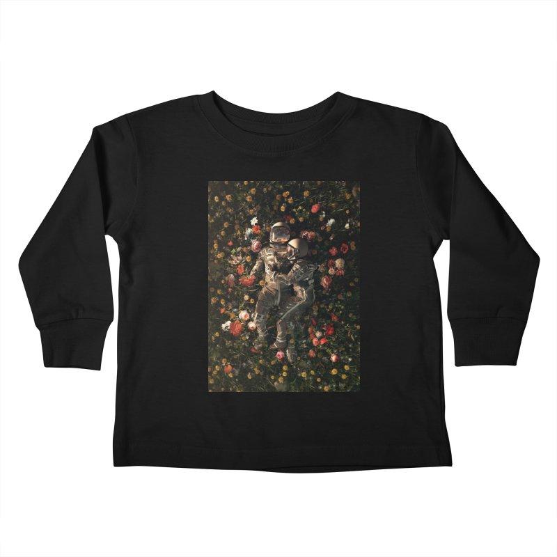 Garden Delights II Kids Toddler Longsleeve T-Shirt by nicebleed