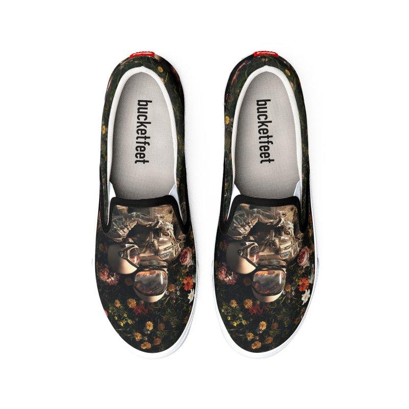 Garden Delights II Men's Shoes by nicebleed