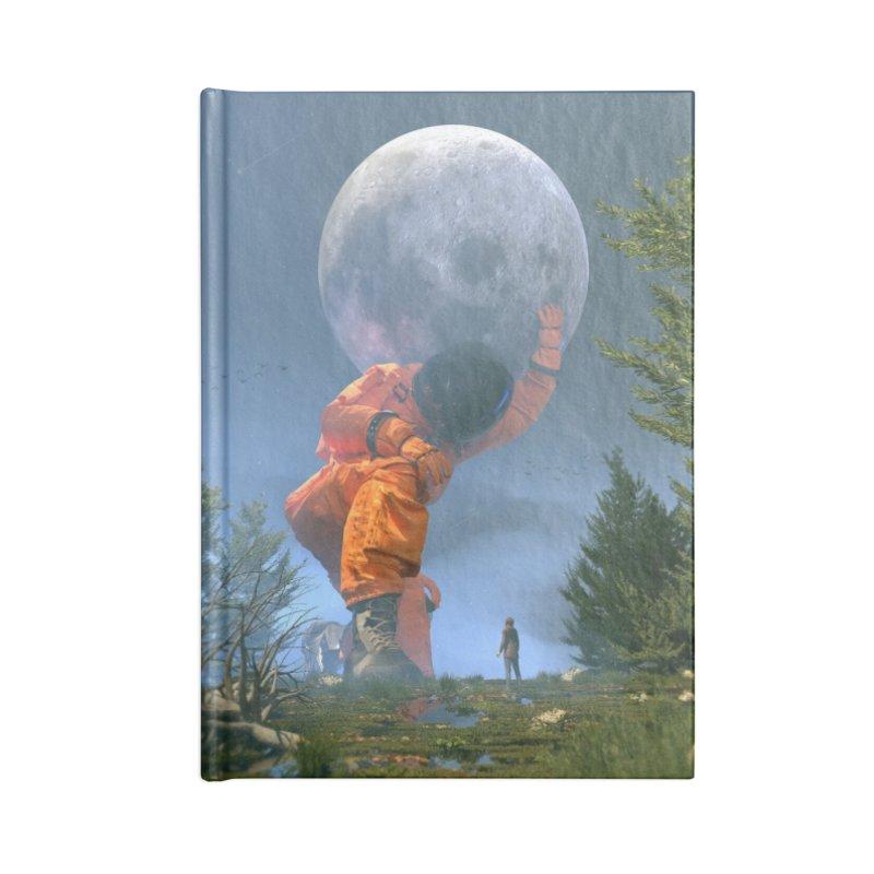 Lunar Dreams Accessories Notebook by nicebleed