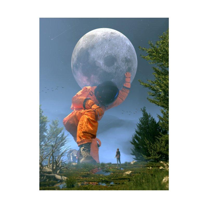 Lunar Dreams Men's Longsleeve T-Shirt by nicebleed