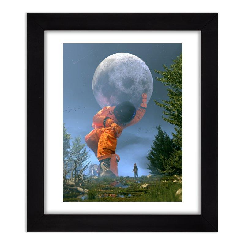 Lunar Dreams Home Framed Fine Art Print by nicebleed