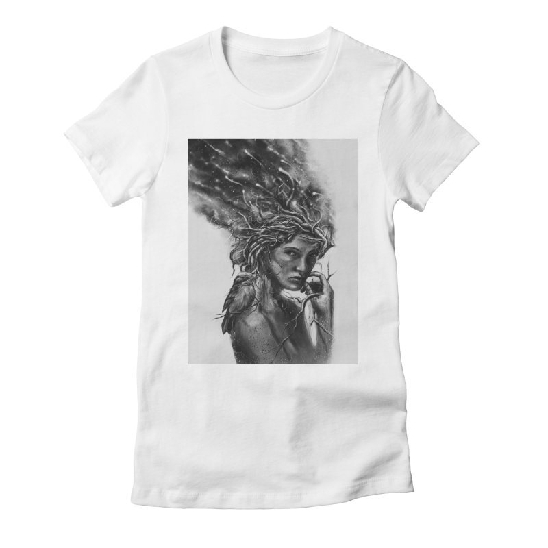 Affinity Women's Fitted T-Shirt by nicebleed