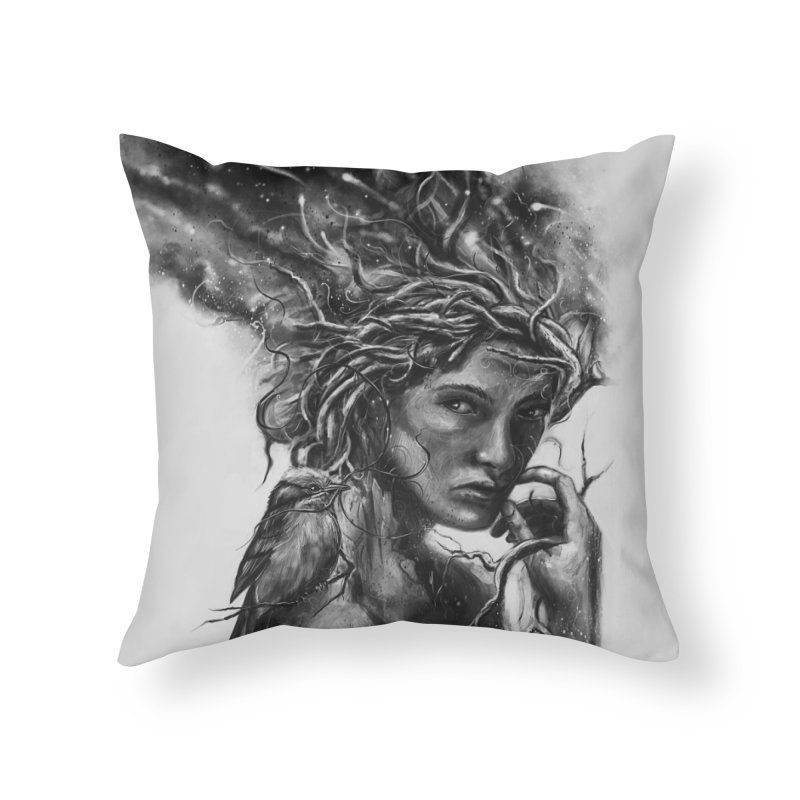 Affinity Home Throw Pillow by nicebleed