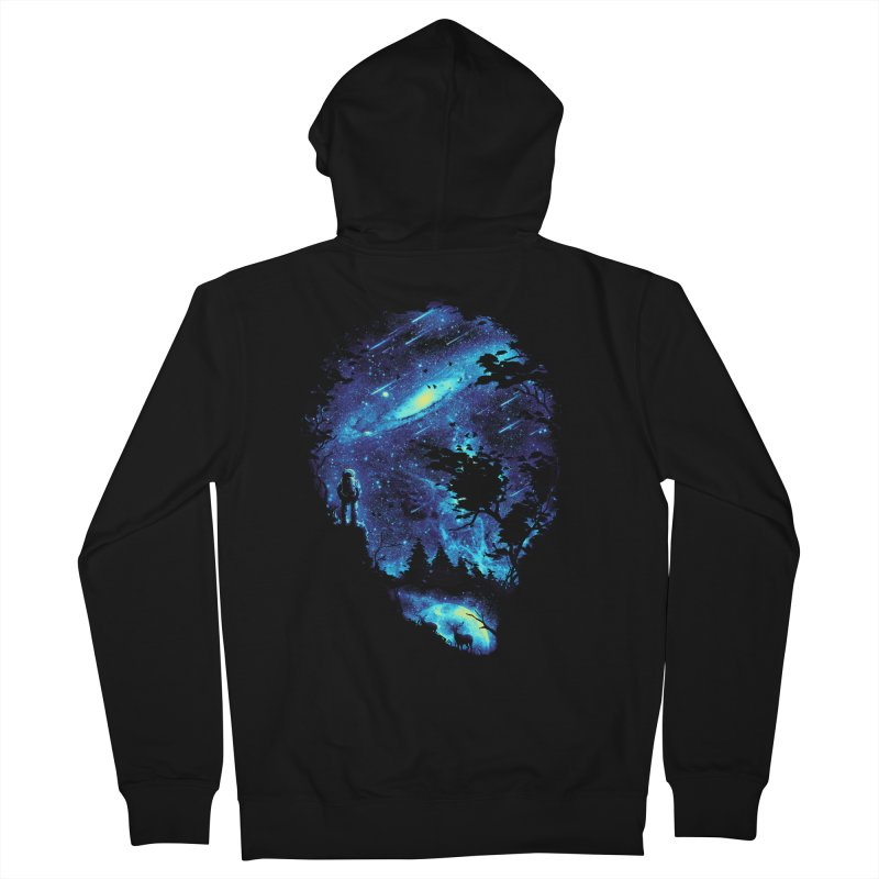 Cosmic Revelation Men's Zip-Up Hoody by nicebleed