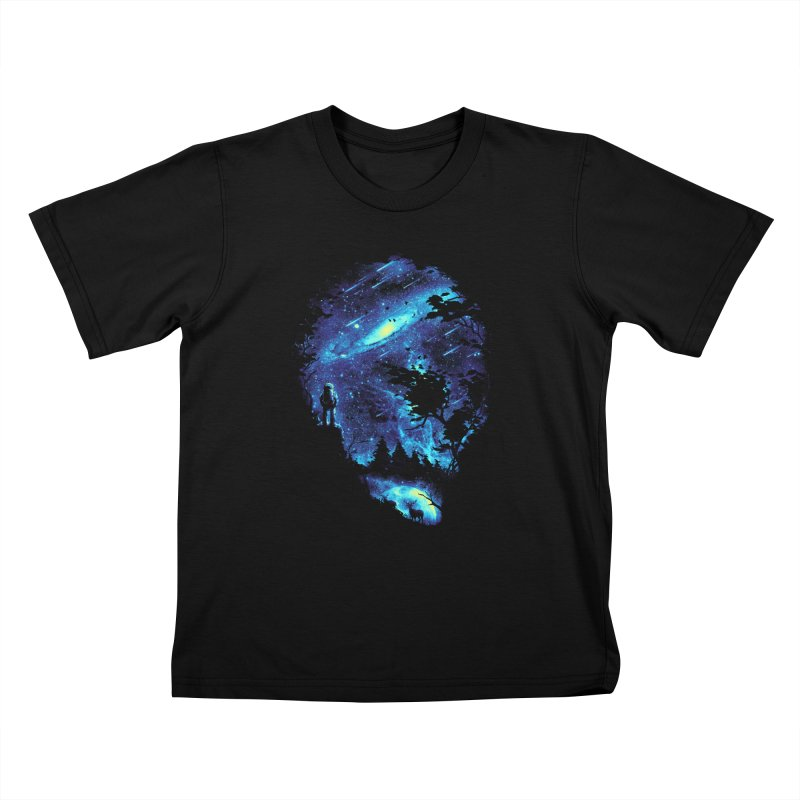 Cosmic Revelation Kids T-shirt by nicebleed