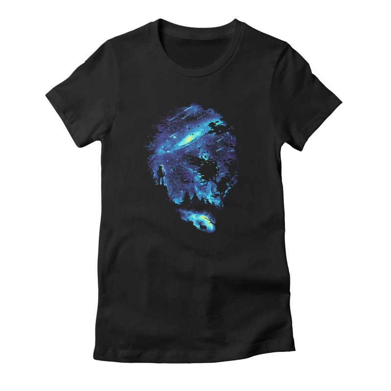 Cosmic Revelation Women's Fitted T-Shirt by nicebleed