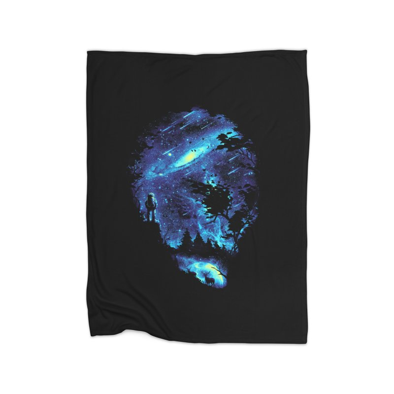 Cosmic Revelation Home Fleece Blanket by nicebleed