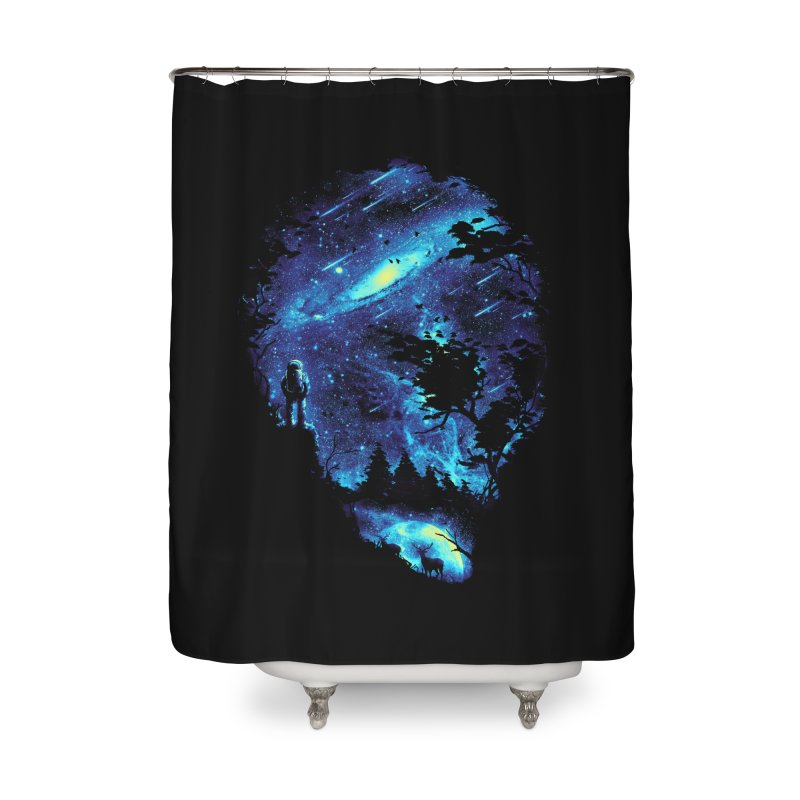 Cosmic Revelation Home Shower Curtain by nicebleed