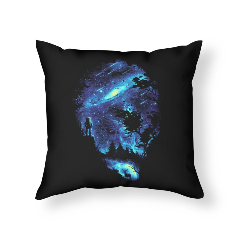 Cosmic Revelation Home Throw Pillow by nicebleed