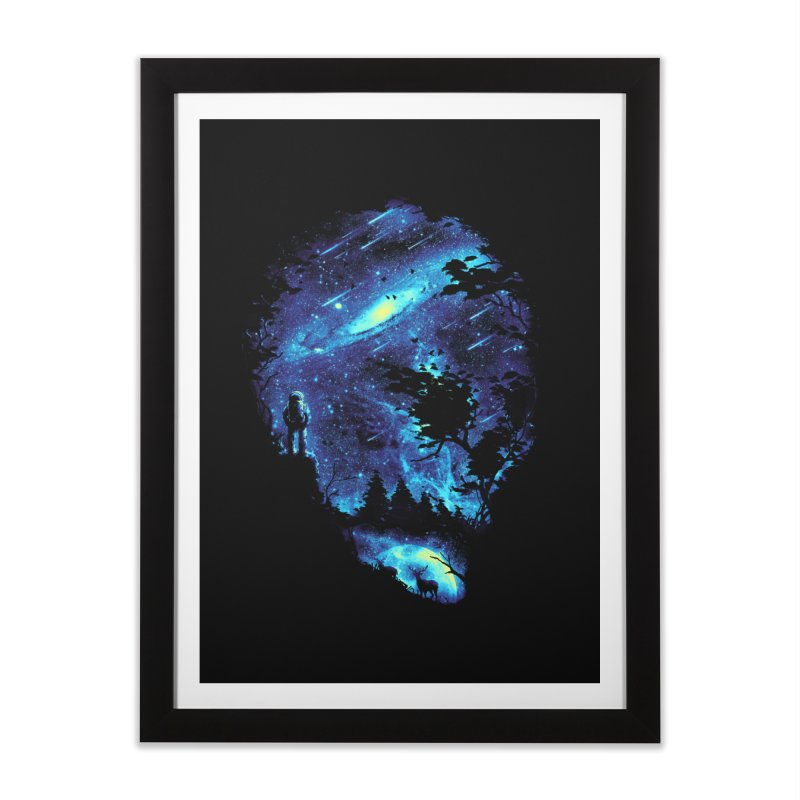 Cosmic Revelation Home Framed Fine Art Print by nicebleed
