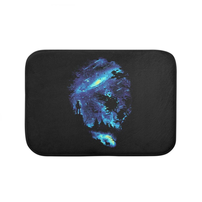 Cosmic Revelation Home Bath Mat by nicebleed