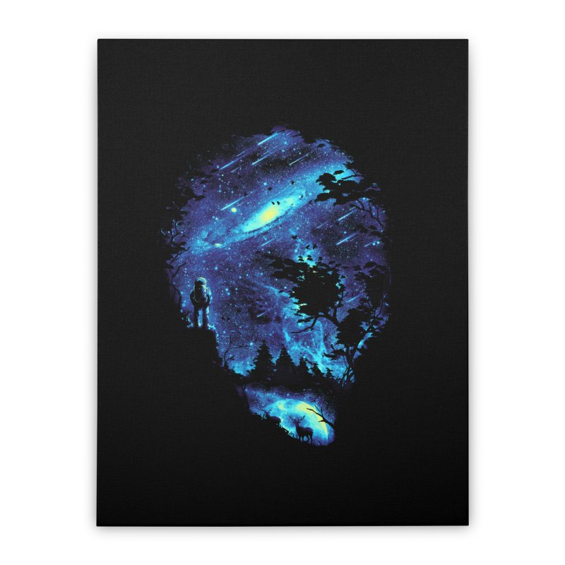Cosmic Revelation Home Stretched Canvas by nicebleed