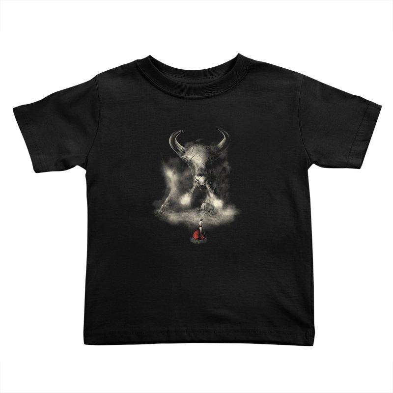 Matador's Match Kids Toddler T-Shirt by nicebleed