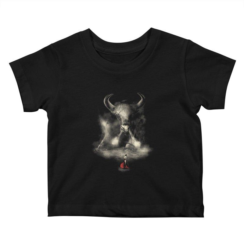 Matador's Match Kids Baby T-Shirt by nicebleed