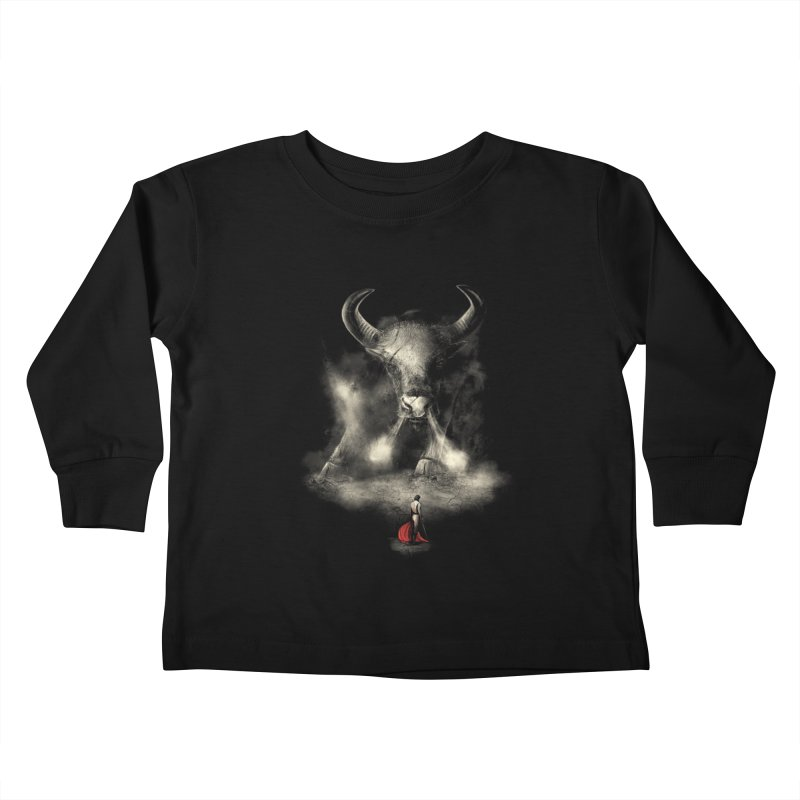 Matador's Match Kids Toddler Longsleeve T-Shirt by nicebleed