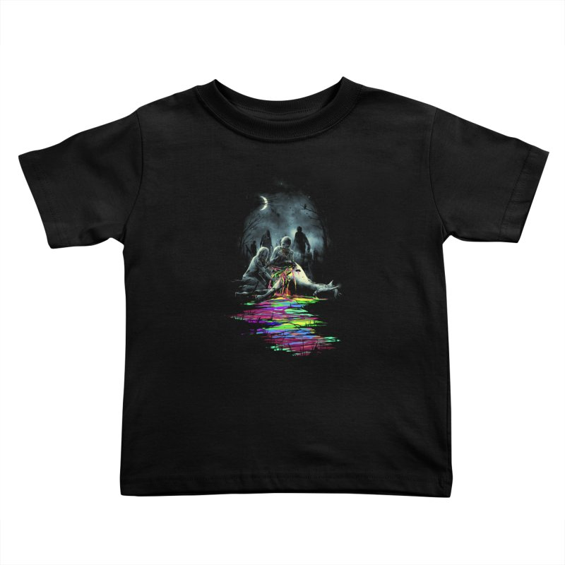 Midnight Snack Kids Toddler T-Shirt by nicebleed