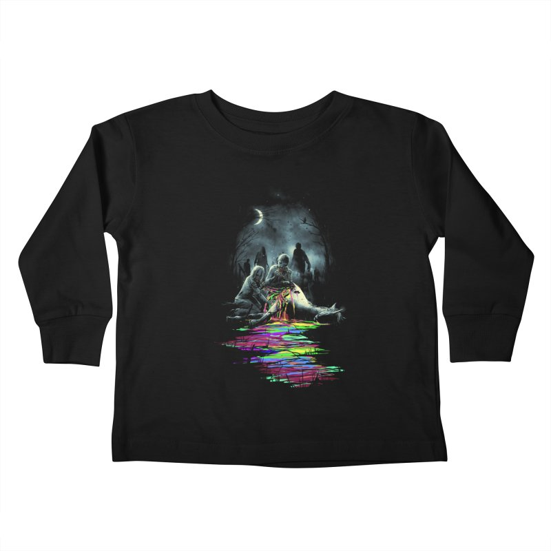 Midnight Snack Kids Toddler Longsleeve T-Shirt by nicebleed