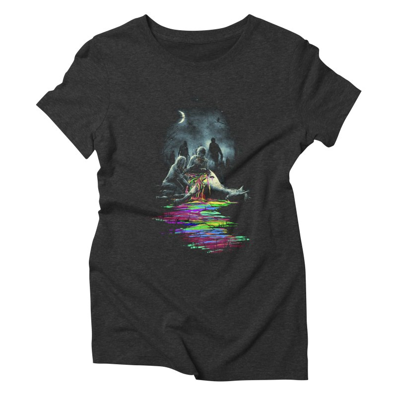 Midnight Snack Women's Triblend T-shirt by nicebleed